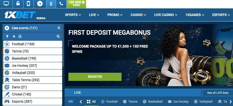 1xbet sport review